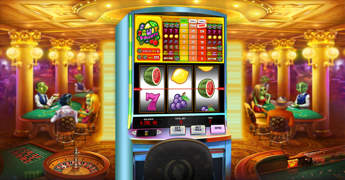 people prefer slot gambling